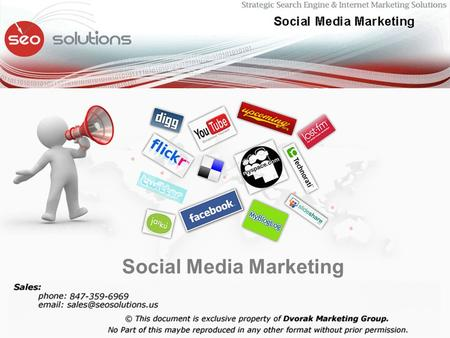 Social Media Marketing. Social Media Marketing / Viral Marketing.