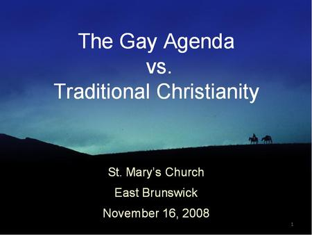 1. 1. What is Homosexuality and is its causes? 2.The Gay's Agenda for Society, the <strong>Law</strong>, the Church 3.What does the Bible Say about Homosexuality ? 4.The.