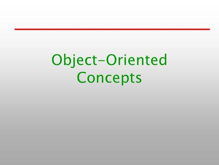 "Object-Oriented Concepts. 1-2 Previous study How to link ""Java SDK"" library –Using path and Classpath What benefits of ""java"" –Compile to byte-code and."