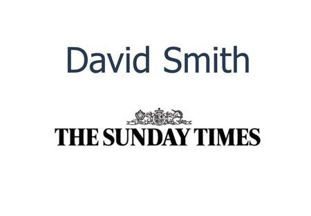 Copyright © 2011 CIL Ltd. All rights reserved. David Smith Sunday Times September 2011 David Smith.