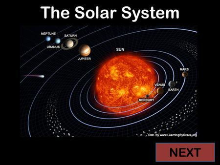 pictures of the solar system in order from the sun - photo #24