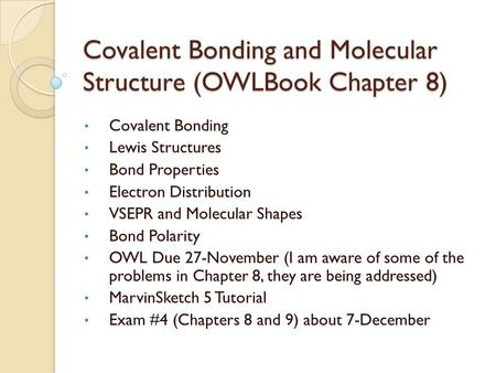 Chemistry 125: Lecture 3 Double Minima, Earnshaw\'s Theorem, and ...