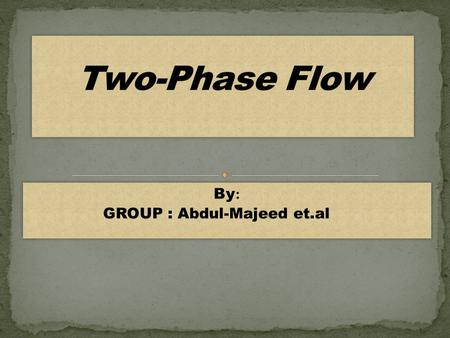 :By GROUP : Abdul-Majeed et.al