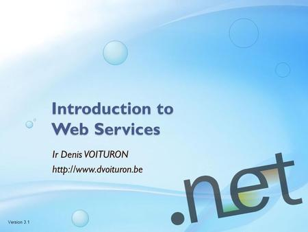 Introduction to Web Services