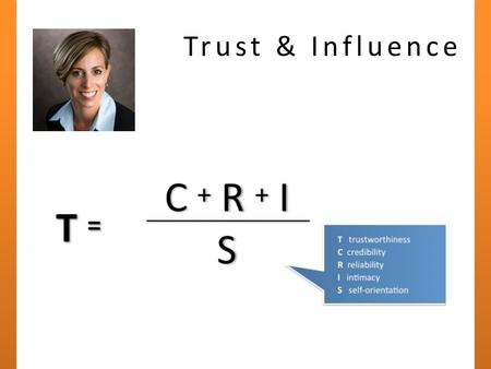 Trust & Influence. About the PMI® Practice Standards and other ways to earn PDU's Christopher Talmont, PMP, PMI-SP April 20, 2011.