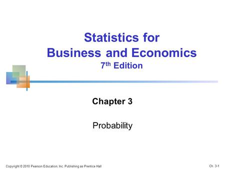 Business and Economics 7th Edition