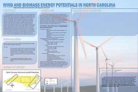 A new study out of UNC Chapel Hill discusses how North Carolina could have 100% of its power coming from off-shore wind turbines. These off-shore turbines.