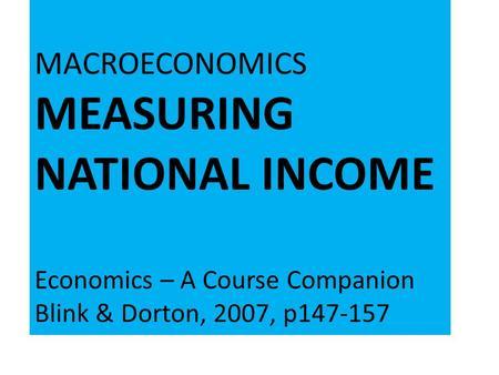 ib economics course companion pdf
