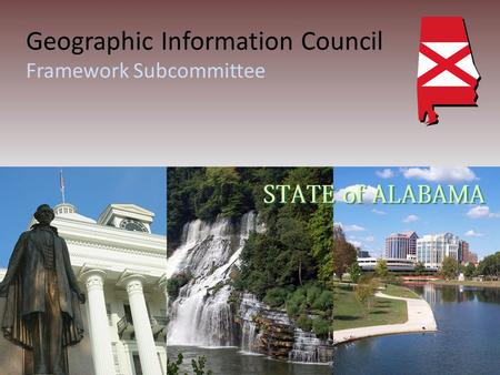Geographic Information Council Framework Subcommittee.