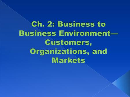 Commercial Enterprises Government Units Non-Profit and Not-for-Profit Organizations.