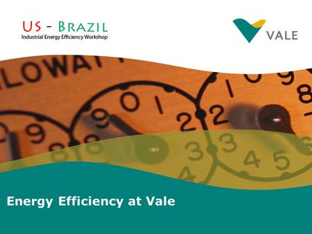 Energy Efficiency at Vale. ITEMS GoalGoal Energy Management: Energy Efficiency Plant Assessments Energy Saving Needs in Brazilian Industry ConclusionConclusion.