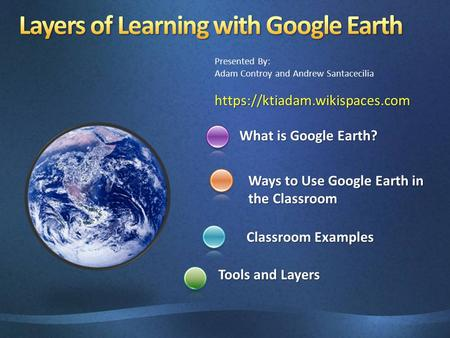 Layers of Learning with Google Earth