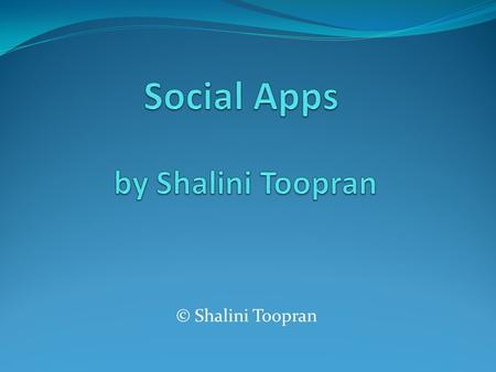 © Shalini Toopran. A social networking app focuses on building online communities of people who share interests and/or activities, or who are interested.