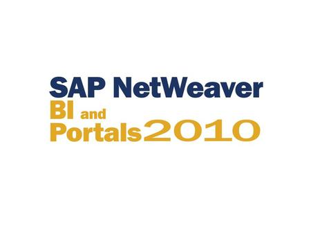 What you need to know to get the most out of using SAP NetWeaver BW as your enterprise data warehouse Dr. Bjarne Berg.