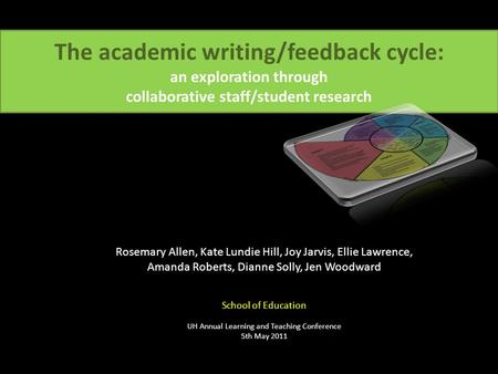 Writing in the Disciplines & Across the Curriculum