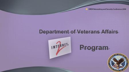 Department of Veterans Affairs Program. VA Overview: Organization  157 hospitals Nationwide  One of the largest health care systems in the USA  Conducts.