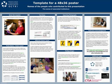 Template design research conclave 2016 template for a 4 for Powerpoint poster templates 48x36