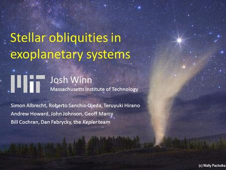 Stellar obliquities in exoplanetary systems