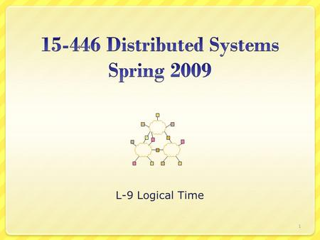 Distributed Systems Spring 2009