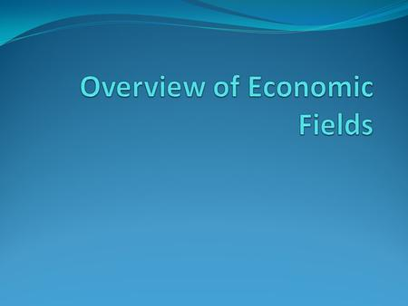 Primary Fields Environmental Economics Industrial Organization International Economics.