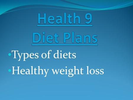 a comparison of the types of dieters The 7 types of weight loss surgery the following sections compare each aspect of your diet after references for types of bariatric surgery: full comparison.