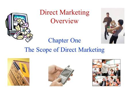 Direct Marketing Overview
