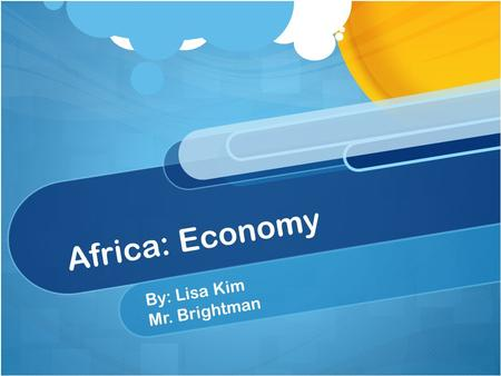 Africa: Economy By: Lisa Kim Mr. Brightman. Atlantic Slave Trade Atlantic trade was a major trade during 1500s through 1700s. Atlantic trade was a trade.