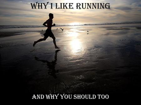 "Why I like Running And why you should too. There are Countless Health Benefits ""I don't like running"" -Neither does the majority of our girls cross country."