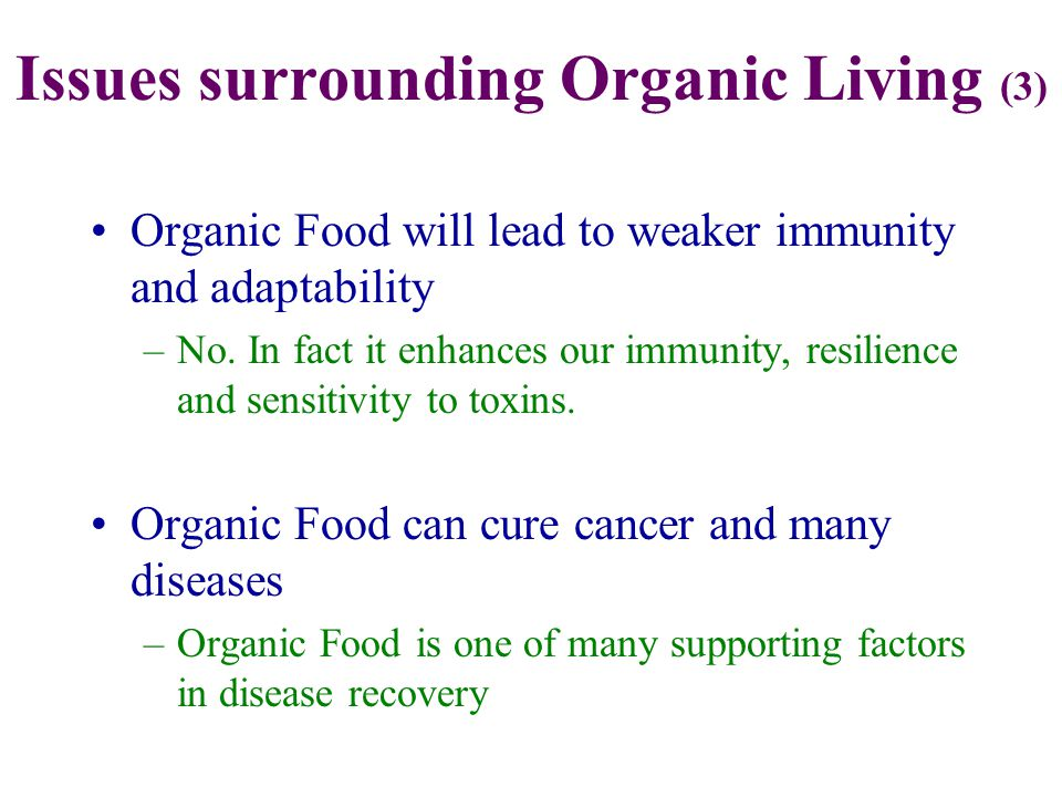 The Core of Organic Living Mutual Respect / Gratitude Sustainable Lifestyle Harmony