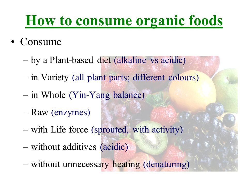 Why Organic foods are more pricey.--Really.