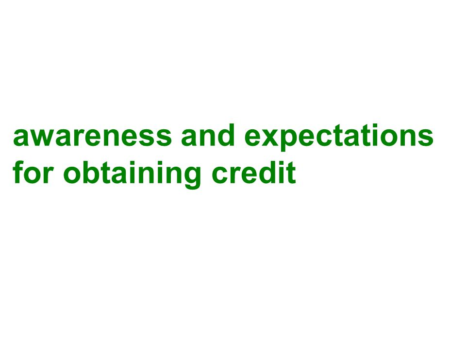 Constructive Credit is an: Appropriately structured loan… To achieve realizable goals… That are within the capacity of the borrower to manage and achieve… In order to accomplish repayment.