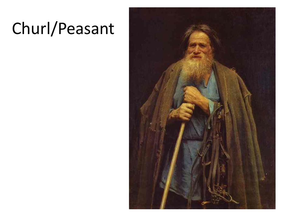 Most peasants had a few meager possessions like tools, pots and wooden bowls, cups and spoons.