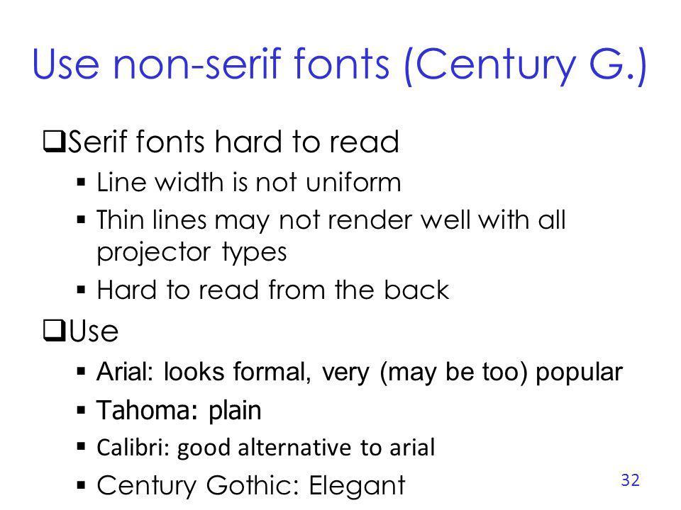 The Ban Comic Sans Campaign Some people hate the comic sans font http://bancomicsans.com Reasons Ubiquitous Childish, immature, naïve Inappropriately used Designed at Microsoft 33