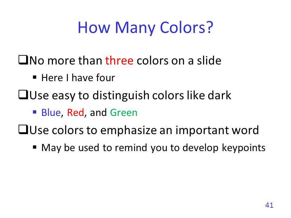How Many Colors.