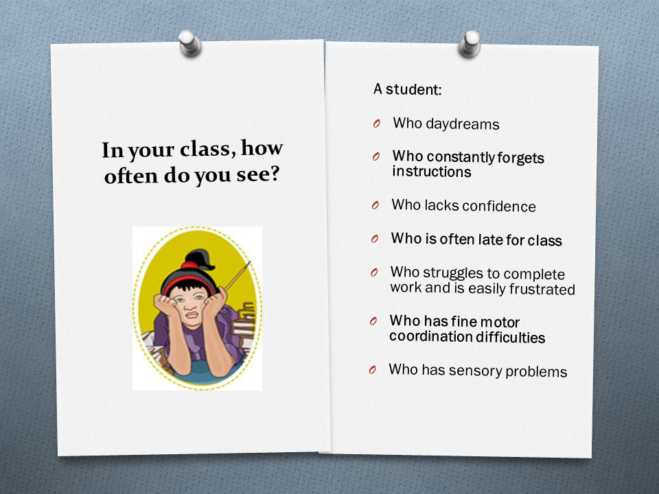 In your class, how often do you see.