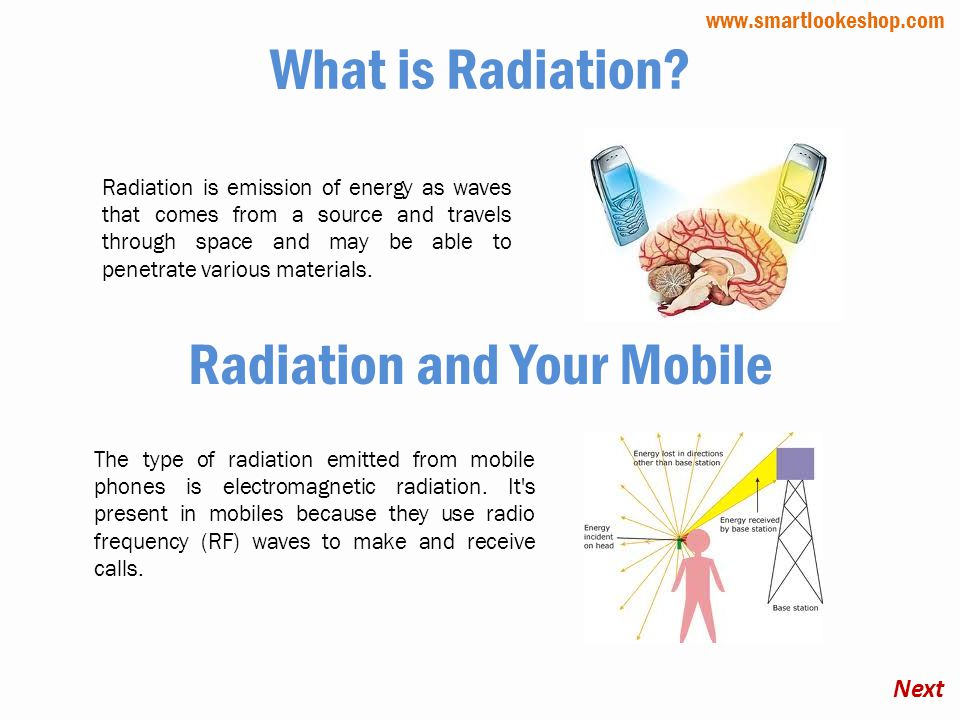 What is Radiation.