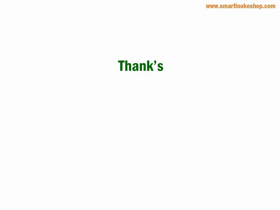 Thanks www.smartlookeshop.com