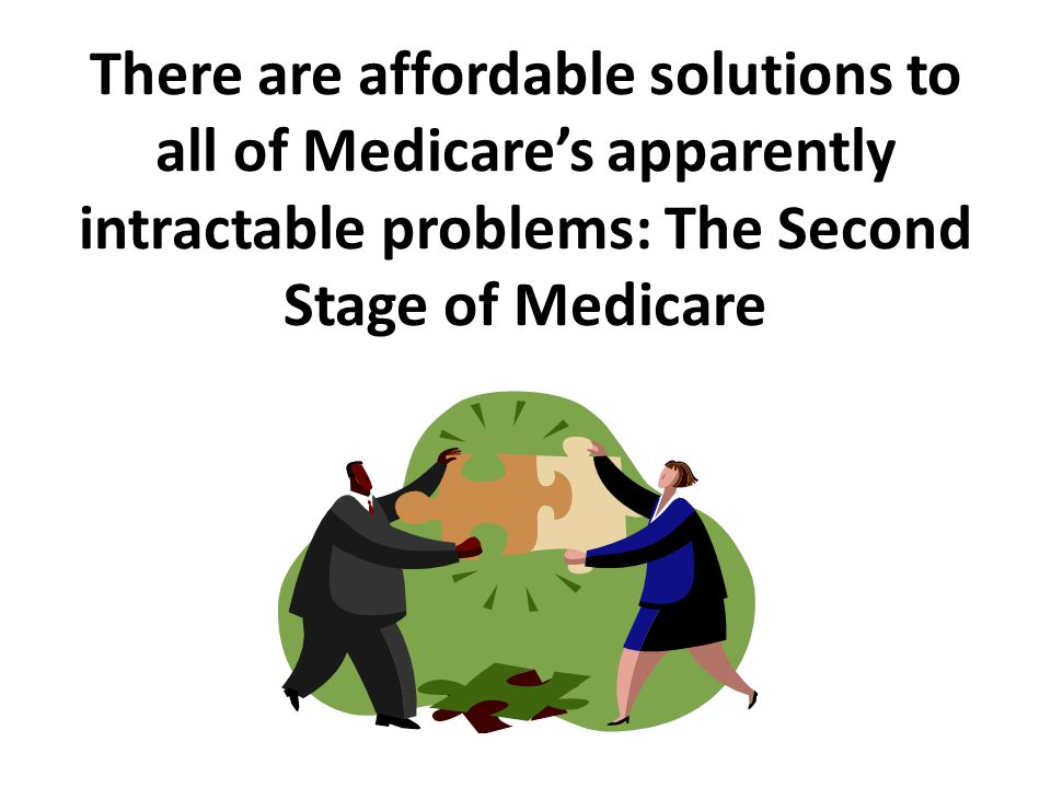 We need to change the way we deliver services Removing the financial barriers between the provider of health care and the recipient is a minor matter, a matter of law, a matter of taxation.