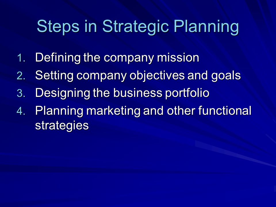 Mission Statement A statement representing the organizations purpose – what it wants to accomplish.
