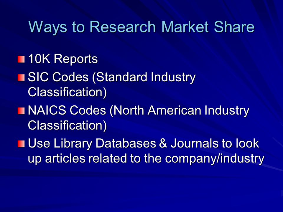 Problems with Matrix Approaches Difficult to quantify market share and market growth.