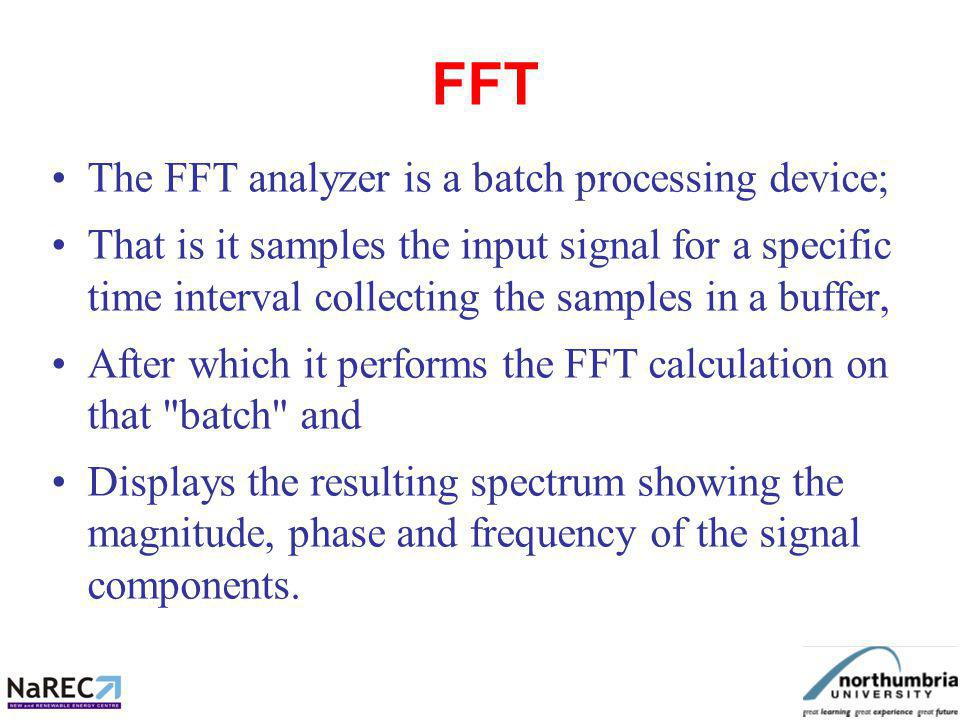 To find out whether a sampled signal contains a certain frequency: Add up the consecutive samples multiplied by weights, positive when the weighting function is in the first half of its period and negative when its in the second half.