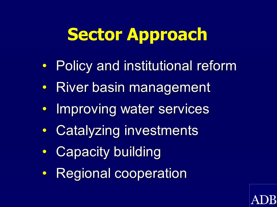 Ecosystems, Markets, Private Sector