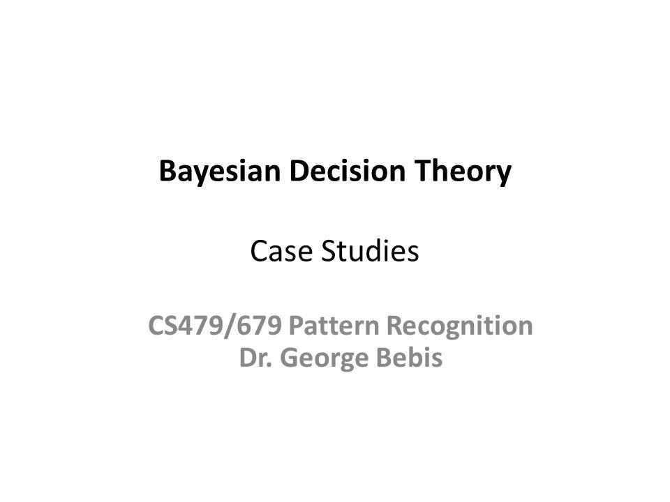 Case Study I A.Madabhushi and J.