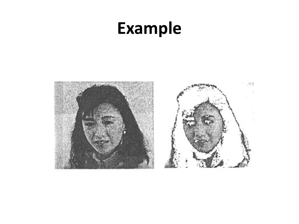 Dealing with skin-color-like objects It is impossible in general to detect only faces simply from the result of color matching – e.g., background may contain skin colors