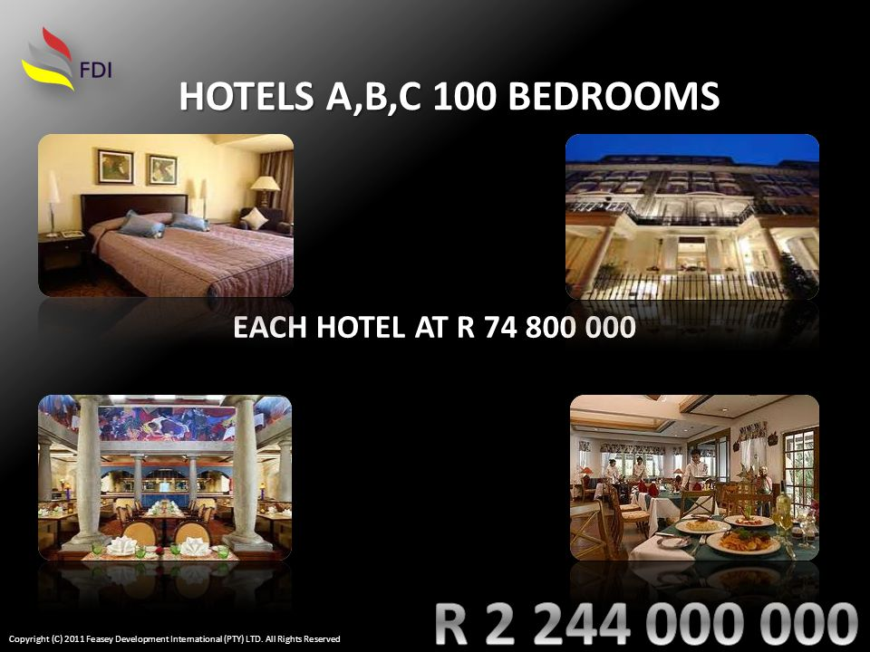 BOUTIQUE HOTEL Copyright (C) 2011 Feasey Development International (PTY) LTD. All Rights Reserved