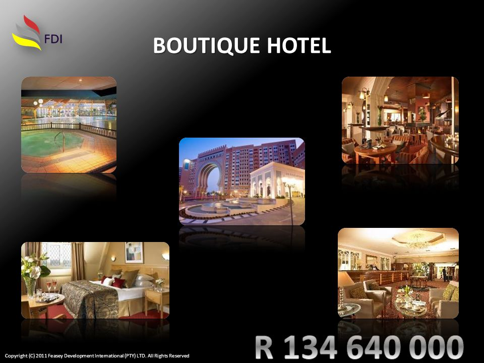 BUSINESS HOTEL Copyright (C) 2011 Feasey Development International (PTY) LTD. All Rights Reserved