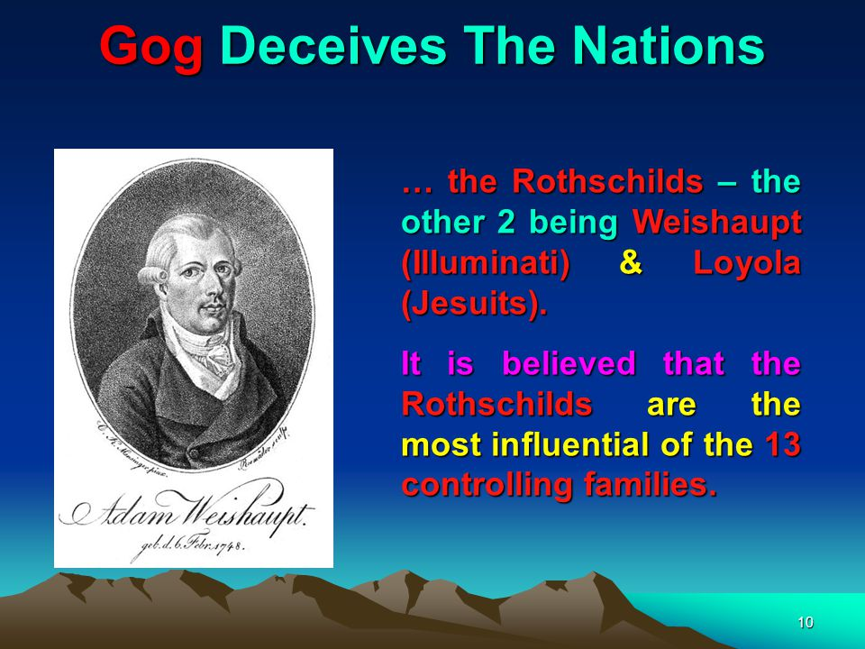 Gog Deceives The Nations 11 And I saw three unclean spirits like frogs come out of the mouth of the dragon, and out of the mouth of the beast, and out of the mouth of the false prophet. Rev 16:13