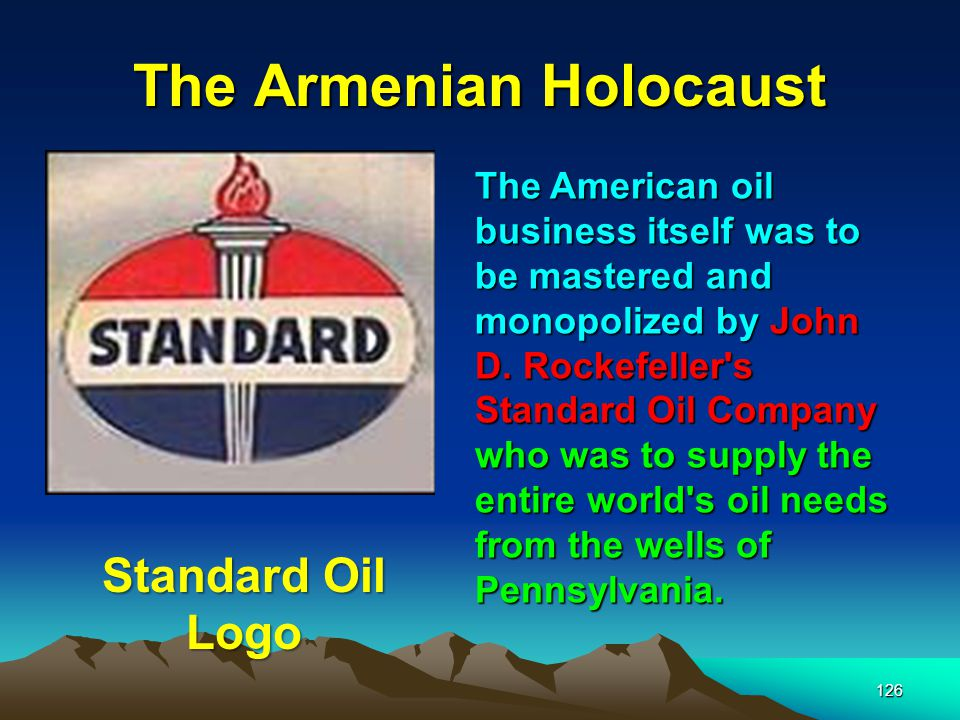 The Armenian Holocaust 127 The Rothschilds however had other ideas!