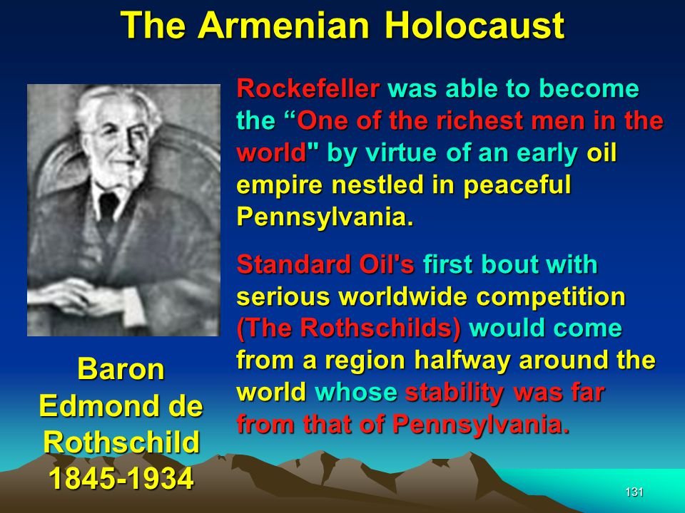 132 The Armenian Holocaust Baku Nobel Oil Fields The Nobel Family (of Nobel prize fame) had already established a flourishing oil business in the Baku area supplying mainly Russia and some other countries.