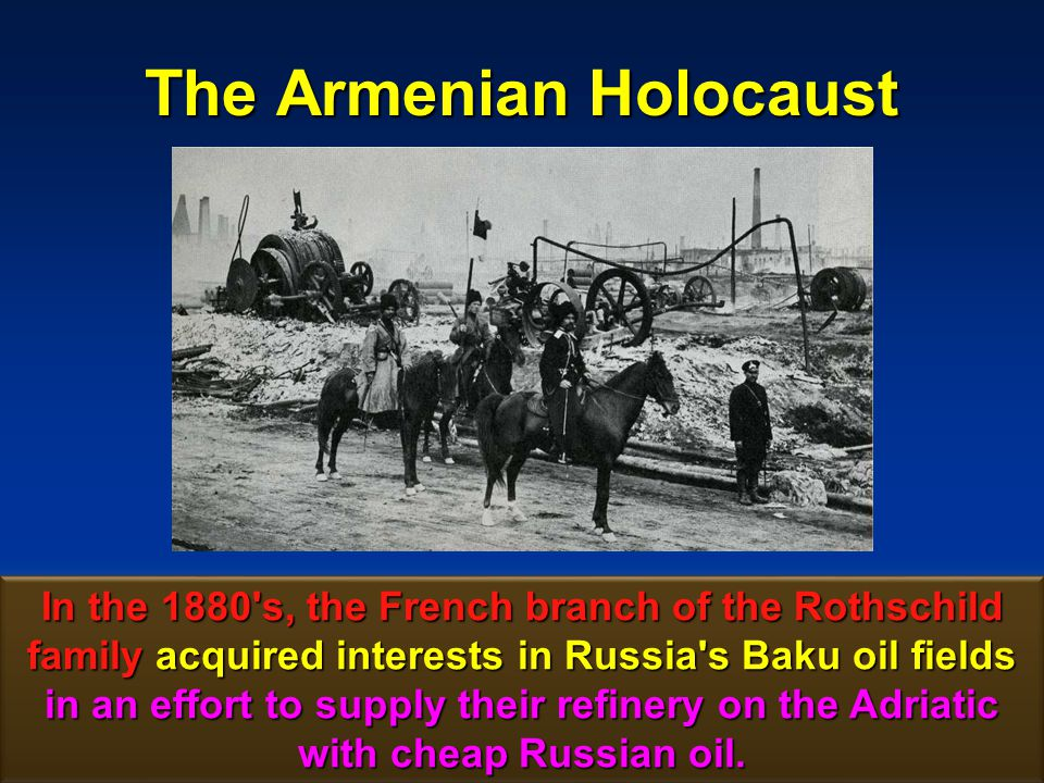 135 The Armenian Holocaust Baku – Batum Railroad In exchange for these interests they built a railroad linking Baku to the newly acquired Black Sea port of Batum.